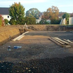 Baugrund-Schalthaus