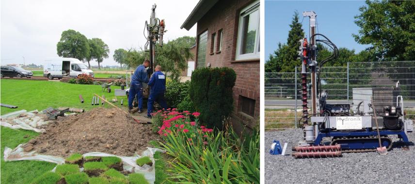 Gartenbrunnen-Wasser aus eigenem Grund
