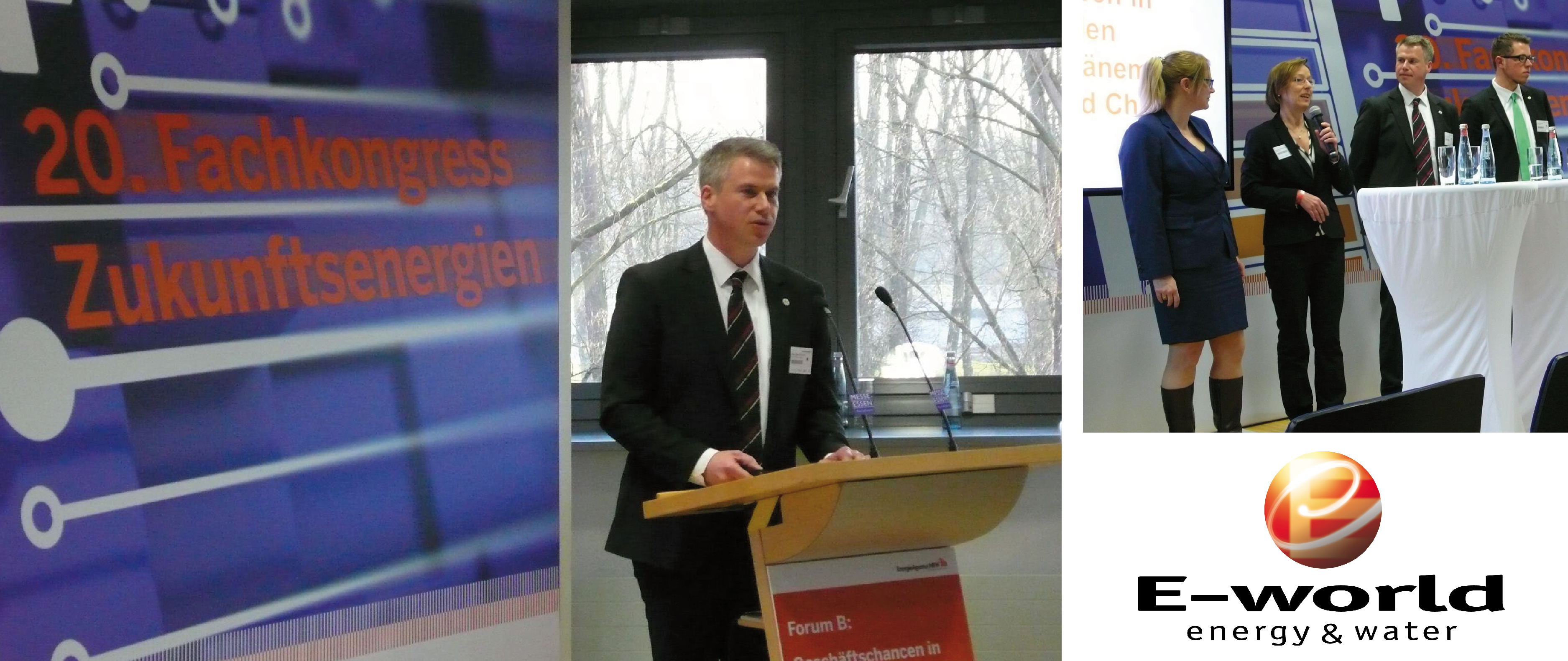 20. Fachkongress Zukunftsenergien auf der E-world 2016 in Essen