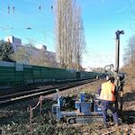 Entwaesserung Schienennetz